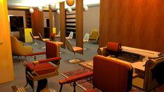 3D impressie voor Barbershop