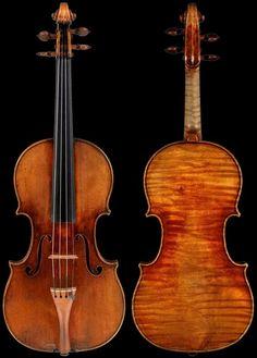 """Antonio Stradivari Violin """"Ruby"""" 1708"""