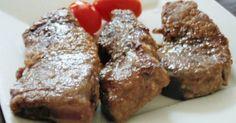 特売のまぐろが手に入ったら、ちょっと豪華にステーキはいかがでしょう?