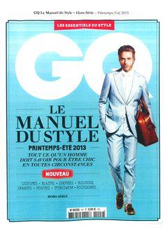 GQ Le manuel du style Printemps / Été 2013