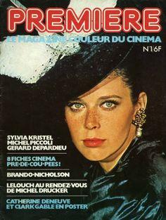 Sylvia Kristel in the First Premiere Magazine Nov 1976