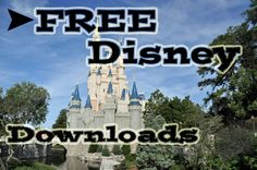 FREE Disney Downloads & Printables!  #Disney #Vacation #Free #Craft