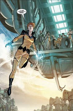 All New Inhumans #2 - Crystal interior art by Stefano Caselli *