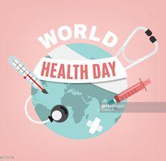 World health day concept. 7 April Medicine and healthcare. World Health Day, World Days, Free Illustrations, Marvel Avengers, Climate Change, Languages, Black Girls, Positive Quotes, Dental