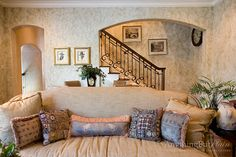 Family Room with Old World Charm | Anything But Plain pwd