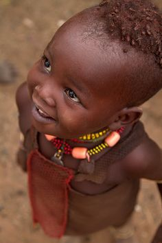 Ethiopian child. Look at the wonder in those eyes!