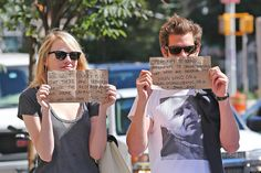 Why Emma Stone and Andrew Garfield rock.