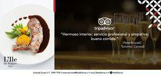 """""""Hermoso interior, servicio profesional y simpatico, buena comida"""""""