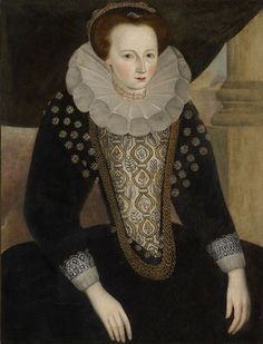 Elizabeth Killigrew, Lady Trelawny, c. 1580s-90s  Philip Mould Historical Portraits  http://www.historicalportraits.com/Gallery.asp?Page=Item&ItemID=1825&Desc=Sir-Jonathan-Trelawny,-and-his-mother,-Elizabeth,-Lady-Trelawny,-n%E9e-Killigrew-%7C--English-School-17th-Century