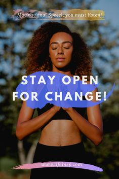 Joel Osteen about change, very powerful motivational speech. Stay open for change, change is inevitable to success. Best Motivational Videos, Motivational Speeches, Motivational Quotes For Life, Keep Moving Forward, Move Forward, Wisdom Thoughts, Dont Change, Joel Osteen, Successful People