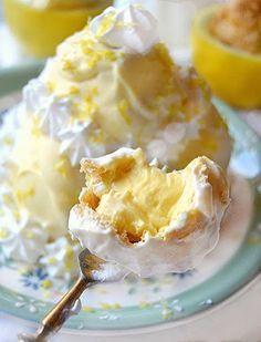 Profiteroles al limone...freschezza pura!