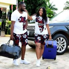 Couples African Outfits, African Dresses Men, African Clothing For Men, African Shirts, African Wear, African Attire, African Style, African Women, Tribal Clothing