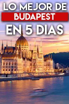 Qué ver y Qué hacer en Budapest: Itinerario de 5 Días Budapest, Taj Mahal, Building, Travel, Things To Do, Ferris Wheels, Statue Of Liberty, Viajes, Buildings