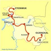 Overijssels Havezatepad Hiking Routes, Hiking Trails, Holland, New Years Eve Party, Netherlands, Road Trip, Funny Pictures, Map, Vacation