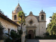 The historic Carmel Mission on California's coast. (Click the image for many more photos)