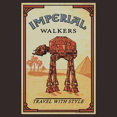 AT-AT Camel, por helljester #starwars