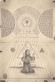 The Art of Daniel Martin Diaz / Sacred Geometry <3