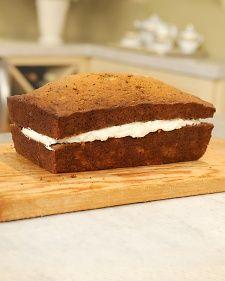 Banana Bread with Cream Cheese Filling - Martha Stewart Recipes (1/3)