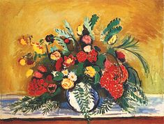 Bouquet of Flowers in a White Vase - Henri Matisse - Hand-Painted Art Reproduction