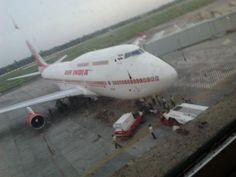 boeing 747-400 Jumbo flight of Air India