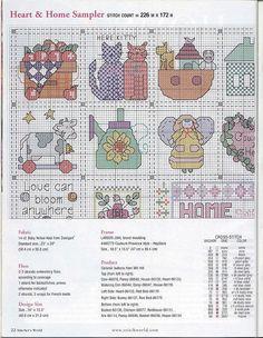 Patrones punto de cruz (solo country) (pág. 19) | Aprender manualidades es facilisimo.com