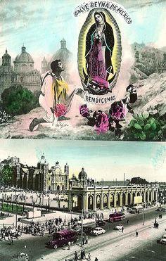 Postcard- Virgin of Guadalupe