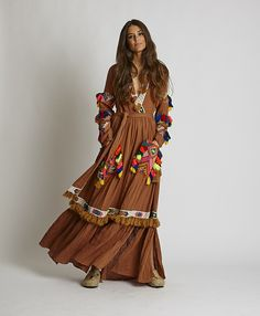 Bohemian Dressing for Boho Chic Style Lovers Look Boho, Bohemian Style, Boho Chic, Boho Fashion, Fashion Outfits, Womens Fashion, Casual Summer Dresses, Boho Dress, Costume