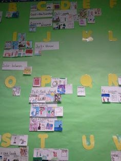 Lighting a Fire: My (root) word wall
