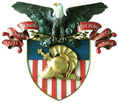United States Military Academy Coat Of Arms, United States Army. United States Military Academy, United States Army, Military Personnel, Military Life, Military Flags, Military History, William Westmoreland, Academia Militar, Pow
