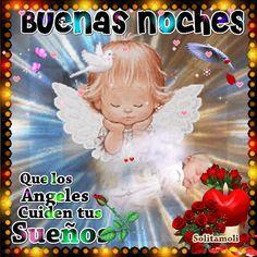 Dulces sueños con este angelito - Mensajes para tu muro