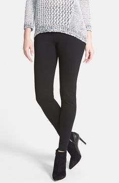 Free shipping and returns on Two by Vince Camuto Seamed Back Leggings (Regular & Petite) at Nordstrom.com. Back seams that run from waist to hem accentuate the slim, sleek fit of essential stretch-knit leggings.