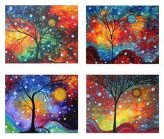 Circle of Life Series Art prints..liquid watercolors would be great