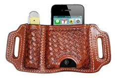 05. BH-iPhone Leather Case & Knife Case for models 4, 4S & 5