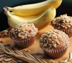 Best Ever Banana Muffins- I've been looking for a great banana muffin recipe, and this is definitely the one I'm sticking with. They were so good!