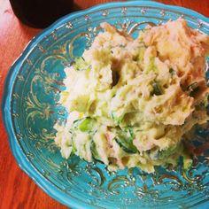 きゅうりとハムとリンゴ٩(๑❛ᴗ❛๑)۶ - 9件のもぐもぐ - ポテトサラダ(∩❛ڡ❛∩) by saayuone