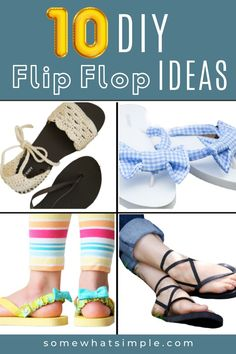 Effortless, affordable, and perfect for the summertime! Fashion Outfits, Fashion Tips, Summertime, Flip Flops, Sandals, Hair Styles, Diy, Clothes, Shoes