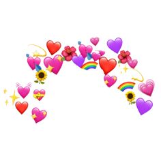Popular and Trending cute Stickers on PicsArt Cute Emoji Wallpaper, Pink Wallpaper Iphone, Emoji Stickers, Cute Stickers, Crown Tumblr, Emoji Photo, We Bare Bears Wallpapers, Overlays Picsart, Emoji Love