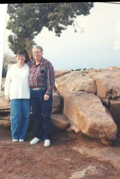 Bill Stoney and me in Moab, UT