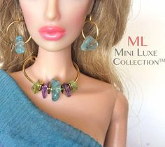 Doll Jewelry for Fashion Royalty dolls Poppy Parker Barbie