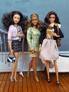 Barbie The Look  Curvy articulated