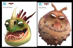 how to train your dragon mask - Buscar con Google