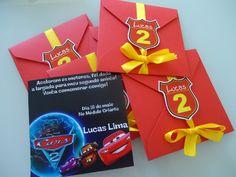 Convite 10x10 personalizado com envelope e tag.  Fazemos qualquer tema.