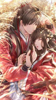 Couple Anime Manga, Anime Cupples, Romantic Anime Couples, Art Anime, Anime Love Couple, Anime Couples Drawings, Anime Couples Manga, Cool Anime Guys, Handsome Anime Guys