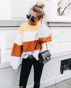 Stylish And Casual Fall Outfit Ideas For Womens Fashion Mode, Look Fashion, Fashion Outfits, Womens Fashion, Fashion Ideas, Feminine Fashion, Ladies Fashion, Petite Fashion, Curvy Fashion
