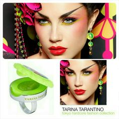 LE Tarina Tarantino Cameo LipGloss Ring LIMITED EDITION - NO LONGER AVAILABLE  New in Box - Never Used  Size: Approx 7 (per Sephora) I say its more lk a 6  Flavor: Honeydew  Tarina Tarantino Lip Gloss Ring from the Tokyo Hardcore Fashion Collection   A vibrant, stylish cocktail ring that houses a mirror & Tarina's high-shine, low-tack lip gloss.  These products are not tested on animals.  Don't forget to check out the rest of my page for more great items & discounts. #oneinamillionjillian…