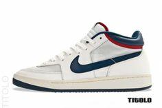 John McEnroe's Nike Challenge Court Mid Returns Tennis Sneakers, Summer Sneakers, Casual Sneakers, Shoes Sneakers, Vintage Nike, Hypebeast, Tenis Basketball, Challenge, Men Accessories