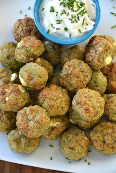 spinach & feta turkey meatballs