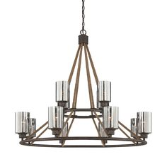 Maverick 12 Light Chandelier :: Chandeliers :: Products :: Savoy House Lighting