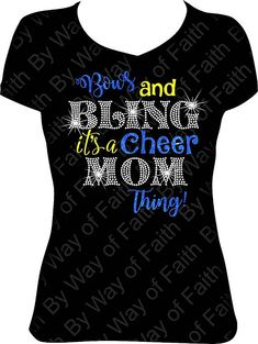 Bows and Bling It's a Cheer Thing  Glitter and