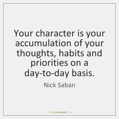 Nick Saban Quotes album by Inspirational Quotes hosted in StoreMyPic Like Quotes, Work Quotes, Alabama Crimson, Crimson Tide, Alabama Football, Football Players, Nick Saban Quotes, Bear Bryant Quotes, Nemo Quotes
